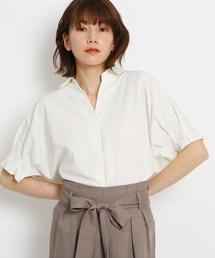 AG by aquagirl(エージー バイ アクアガール)の【洗える】タックドルマンスキッパーシャツ(シャツ/ブラウス)