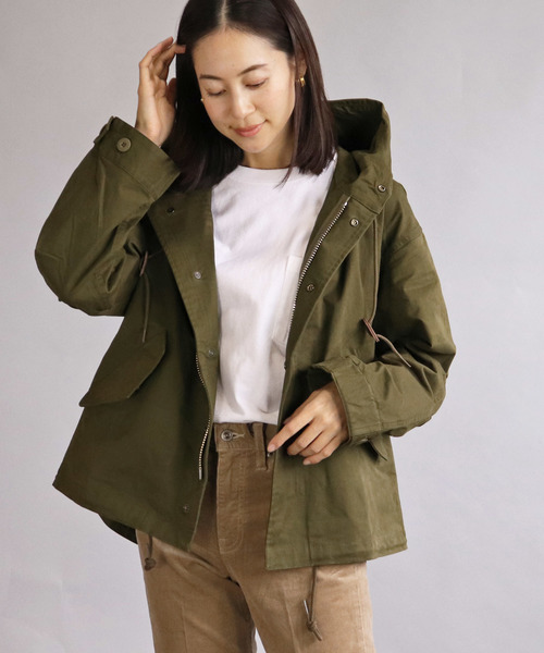 【Allumer/ アリュメール】Short Mods Coat/ショートモッズコート