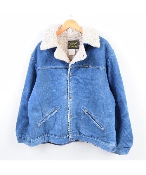 高級感 【ブランド古着】デニムボアジャケット(その他アウター)|Wrangler(ラングラー)のファッション通販 - USED, 介護福祉用品 前後前ショップ:fc7c156e --- altix.com.uy