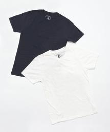 ポケ付Tシャツ 2PACK