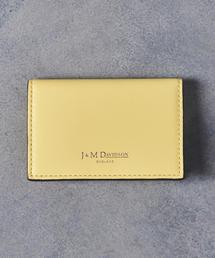 【予約】別注<J&M DAVIDSON>PLAIN カードケース YELLOW■■■†