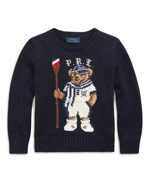 13bae1603ced5 Polo Ralph Lauren Childrenswear(ポロ キッズ)の「ローイング ベア コットン セーター(ニット