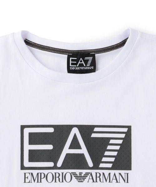 【エンポリオ アルマーニ EA7】フロントロゴ半袖Tシャツ