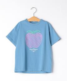 GROOVY COLORS(グルービーカラーズ) APPLE Tシャツ
