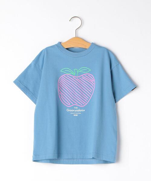 〔WEB限定〕GROOVY COLORS(グルービーカラーズ) APPLE Tシャツ