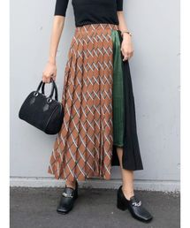MURUA(ムルーア)のイレギュラープリーツスカート(スカート)