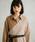 UNITED TOKYO(ユナイテッドトウキョウ)の「ブロッキングシャツワンピース(ワンピース)」|詳細画像