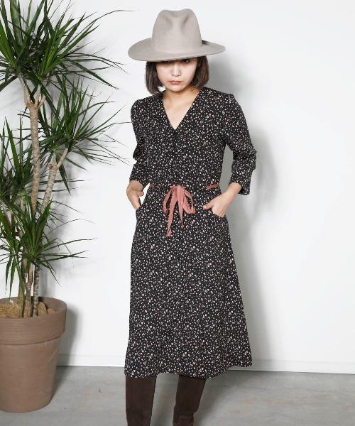 【正規販売店】 【セール】MADE IN PARIS:小花柄プリント・前ボタンワンピース(ワンピース) IN|miniyu(ミニュウ)のファッション通販, カミヤマチョウ:516fb7d2 --- hundeteamschule-shop.de