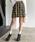 Heather(ヘザー)の「ムジガラスカパン 852577(スカート)」|ブラック系その他