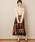 natural couture(ナチュラルクチュール)の「BIGチェックフレアスカート(スカート)」|詳細画像