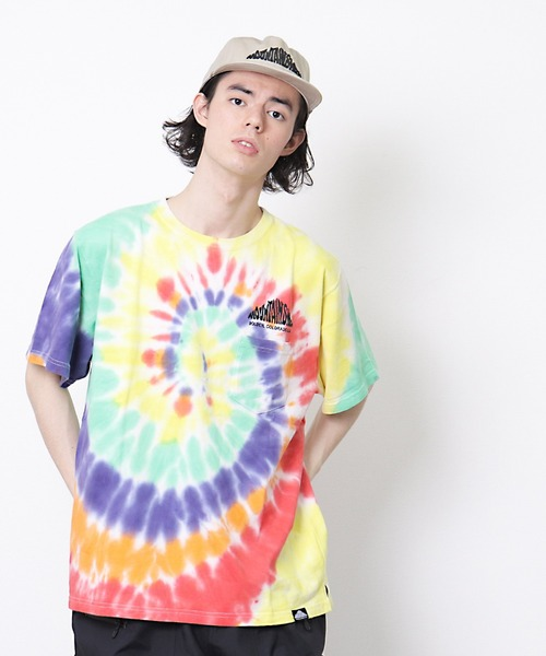 【 Mountain Smith / マウンテンスミス 】2020SS Woods TIE DYE タイダイ ショートスリーブカットソー Tシャツ