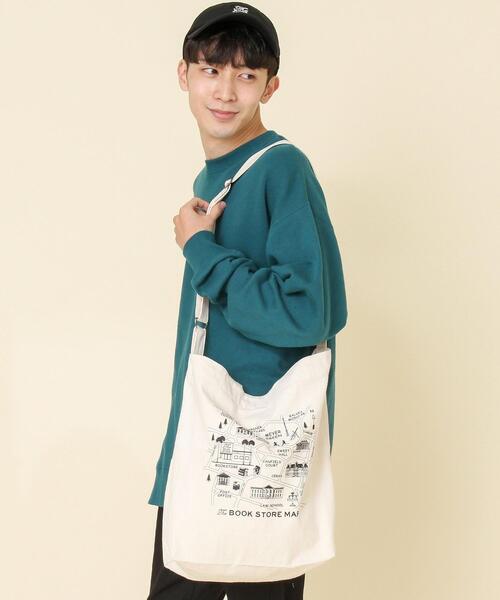【女性にもオススメ】SUNNY SPORTS別注 BOOKSTORE 2WAYトートバッグ