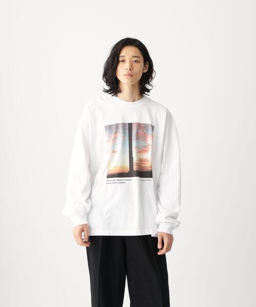 【別注】<LOS ANGELES APPAREL×Ryosuke Yuasa×CITEN>「BOB」フォト Tシャツ
