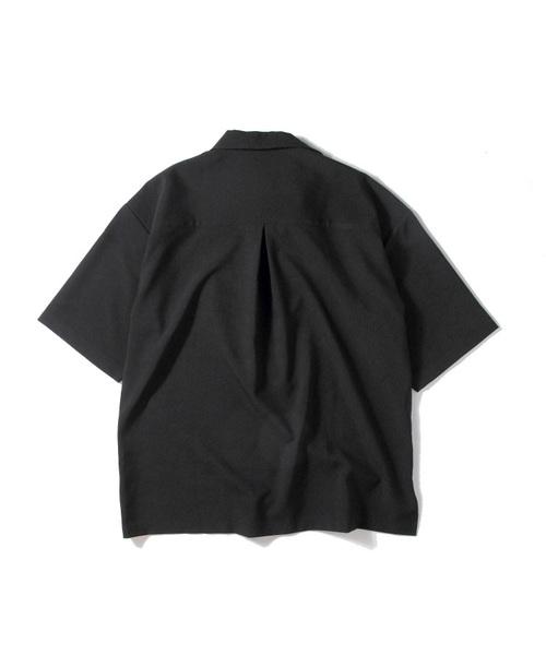 リングハーフZIPオーバーシャツ