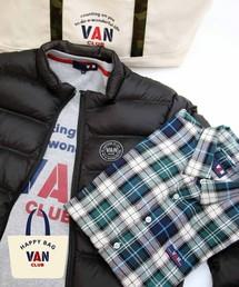 VAN CLUB(バンクラブ)の「HAPPY BAG -VAN CLUB/選べるネルシャツと軽量ダウン・裏起毛トレーナーがトートに入ったセット!!(福袋/福箱)」