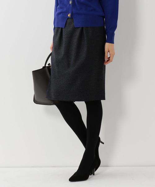 <closet story>タックコクーン タイトスカート