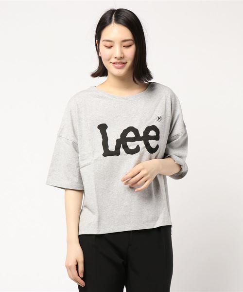 LEE×earth ビッグロゴTシャツ