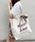 apres jour(アプレジュール)の「スカーフ付きキャンバスバック【ZOZOTOWN限定アイテム】(トートバッグ)」|アイボリー