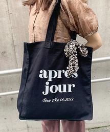 apres jour(アプレジュール)のスカーフ付きキャンバスバック【ZOZOTOWN限定アイテム】(トートバッグ)