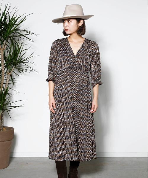 【特別セール品】 MADE IN IN PARIS:幾何ドット柄・カシュクールワンピース(ワンピース) miniyu(ミニュウ)のファッション通販, Chacott Online Shop:93a33adb --- apiceconstrutora.com.br