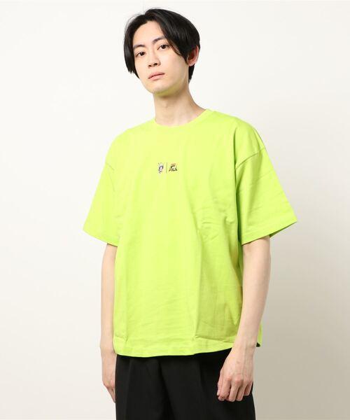 【FILA×BUG!·】ラウンドTシャツ