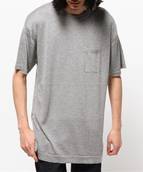 超特価激安 LONG KNIT TEE, ファッション雑貨ブランドクイーン b0ad8659