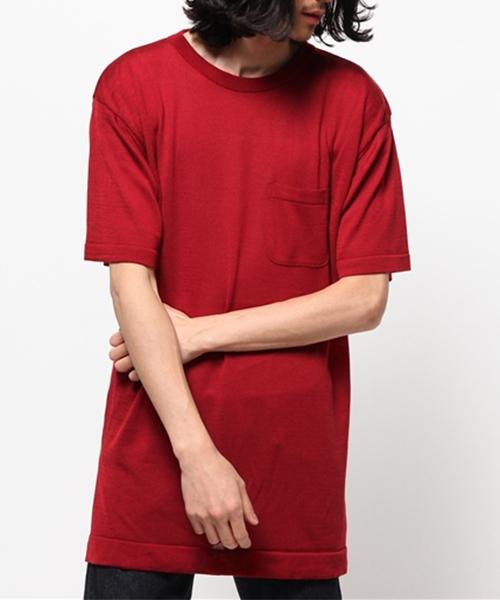 【テレビで話題】 LONG KNIT TEE(Tシャツ/カットソー)|GDC(ジーディーシー)のファッション通販, 掛け時計 専門店 allclocks:d2e0b3a6 --- fahrservice-fischer.de