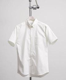 UNITED TOKYO(ユナイテッドトウキョウ)のCOOLMAX オックスボタンダウンショートスリーブシャツ(シャツ/ブラウス)