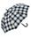 Wpc.(ダブリュピーシー)の「雨傘 ユニセックス ベーシックジャンプアンブレラ【1】(長傘)」 ホワイト×ブルー