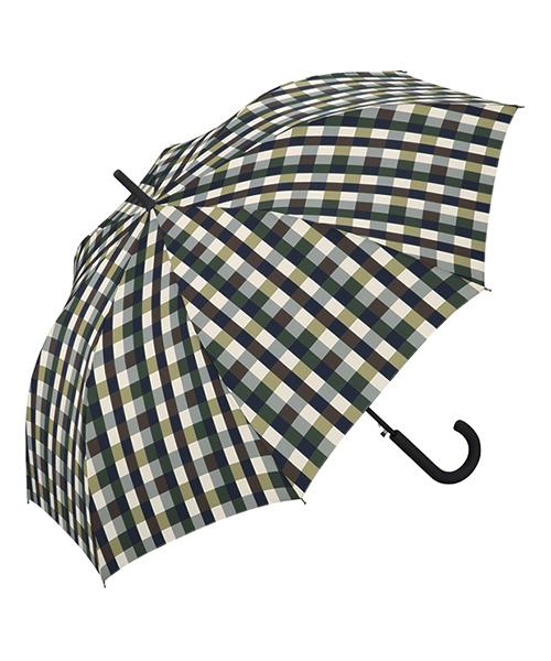 Wpc.(ダブリュピーシー)の「雨傘 ユニセックス ベーシックジャンプアンブレラ【1】(長傘)」 グリーン