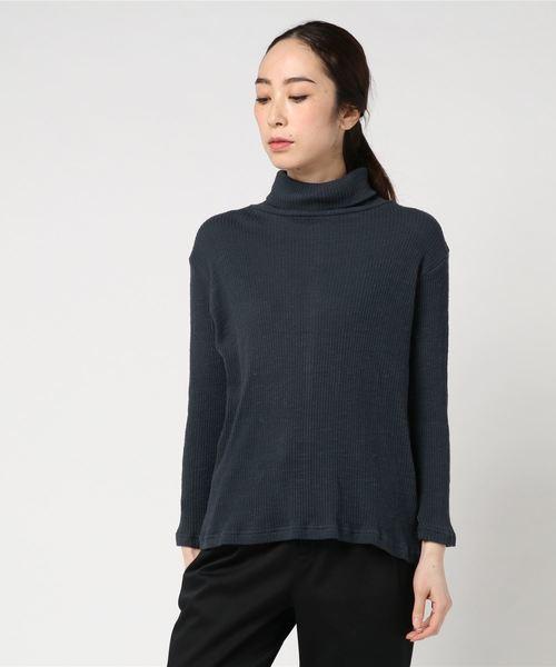タートルネックニット / ハイネックセーター