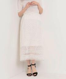 〓JOC C/PE オパール シアー スカート