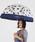 Wpc.(ダブルピーシー)の「雨傘 plantica×Wpc. フラワーアンブレラ プラスチック(長傘)」|ネイビー