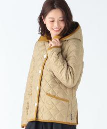 Demi-Luxe BEAMS(デミルクス ビームス)のTraditional Weatherwear / 別注 Waverly フード ショートブルゾン(ブルゾン)
