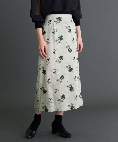 最も信頼できる et OLIKA,オリカ,notereel刺繍 Aラインスカート(スカート)|OLIKA(オリカ)のファッション通販, 刈羽村:1561a37a --- kredo24.ru