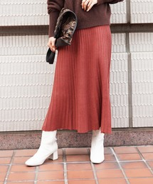 FREE'S MART(フリーズマート)の◆ニットプリーツスカート(スカート)