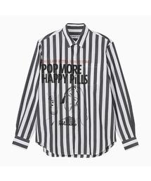 SIENA BARNES/レギュラーカラーシャツストライプ