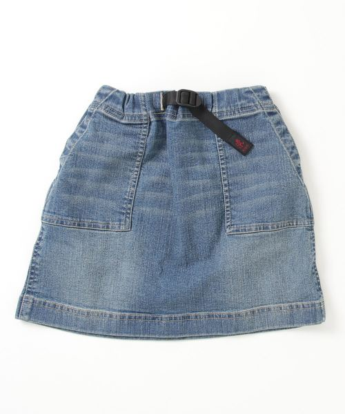 【 GRAMICCI / グラミチ 】# KIDS DENIM MOUNTAIN SKIRT 5192-DMJ-K