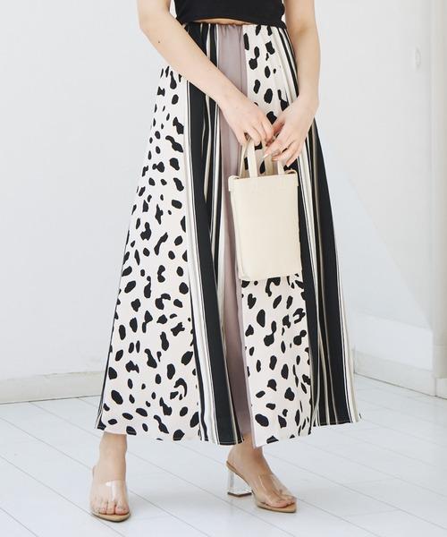 クレイジーパターンマキシスカート