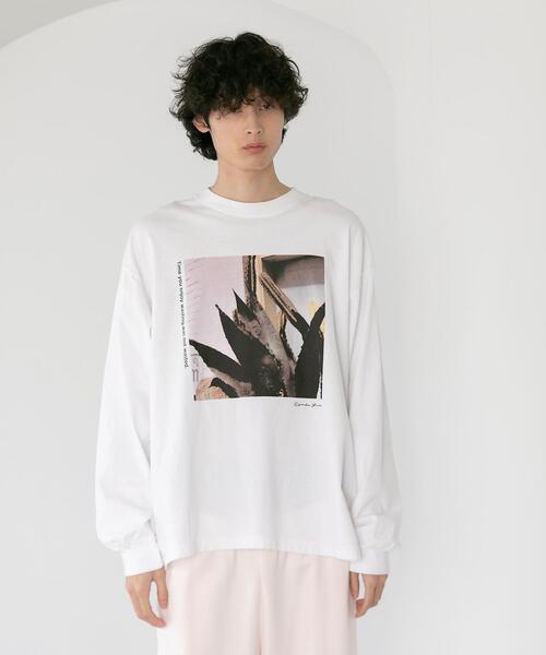 【別注】<LOS ANGELES APPAREL×Ryosuke Yuasa×CITEN>「LENNO」フォト Tシャツ