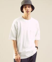 <green label relaxing>スラブ ポケット クルーネック 半袖 Tシャツ