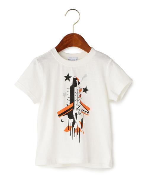 スラブ ロケットプリント Tシャツ ショートスリーブ ◆