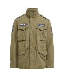 b4695da38cb80f POLO MEN'S(ポロ メンズ)の「コットンツイル フィールド ジャケット(ミリタリージャケット)