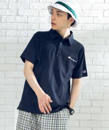 Champion(チャンピオン)のWEGO/CHAMPIONワンポイント刺繍ポロシャツ(ポロシャツ)