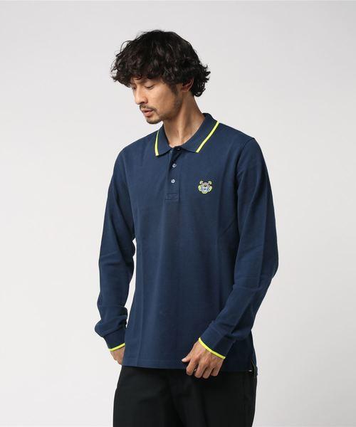 【高知インター店】 Tiger Crest Crest LS LS Polo(ポロシャツ)|KENZO(ケンゾー)のファッション通販, フレームワークス:2e9376ff --- rise-of-the-knights.de