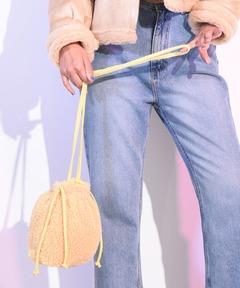 アメリカンラグシー AMERICAN RAG CIE / ボア 巾着ショルダーバッグ
