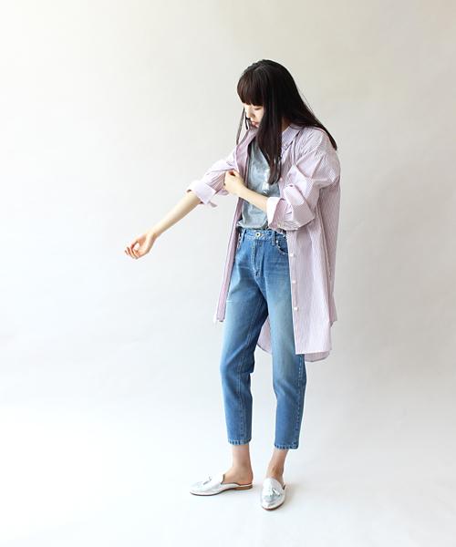 【2019春夏新作】 THREE DOTS DOTS shirt TURQUOISE×DRESSLAVE// stripe shirt dres(ストライプシャツワンピース)(シャツワンピース) DRESSLAVE(ドレスレイブ)のファッション通販, スザカシ:55d06173 --- believe.tiere-gesund-erhalten.de