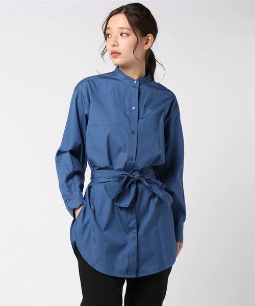 新版 【セール】コットンポプリン オーバーサイズ ベルトシャツ(シャツ/ブラウス)|VINCE(ヴィンス)のファッション通販, 1個売りピアスの専門店 Can Lino:51b037e4 --- wm2018-infos.de