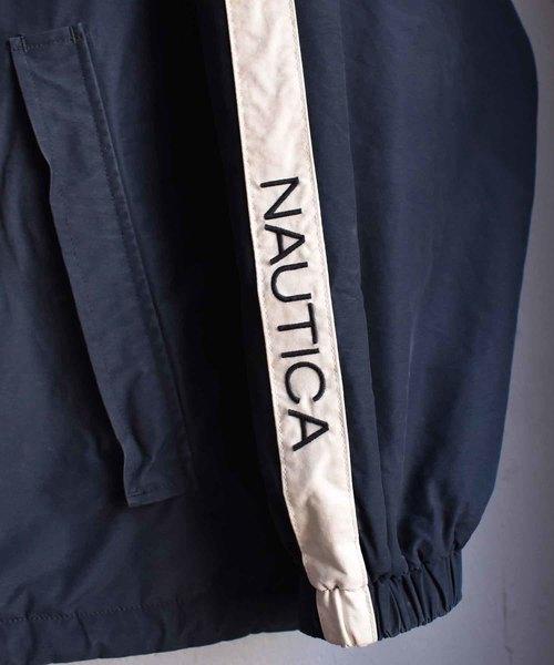 【ヴィンテージ古着】NAUTICA/ノーティカ リバーシブル セーリングジャケット