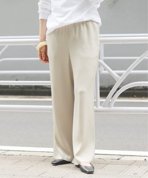 柔らかな質感の ACE/PE サテンパンツ◆(パンツ)|Plage(プラージュ)のファッション通販, 鮫川村:578654b9 --- tsuburaya.azurewebsites.net